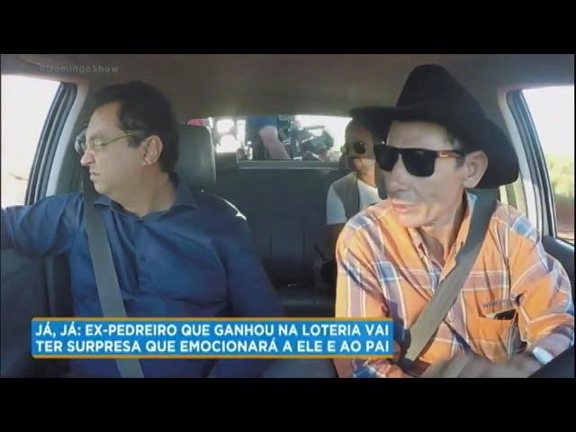 Geraldo Luís visita a fazenda milionária de Valmir