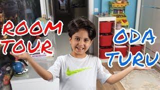 SADO'NUN ODA TURU !! Sado's Room Tour - Fun Kids Video