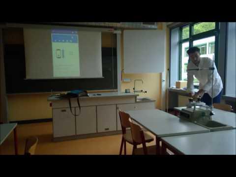Science Journal und Beamer