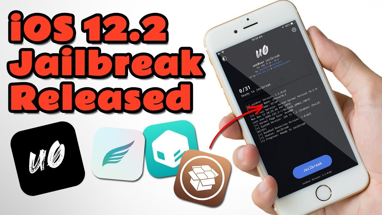 Jailbreak iOS 12 2 Without Computer / PC [Install Unc0ver Jailbreak Online]