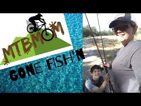 MTB Mom: Fishing A Creek In Redding, Ca