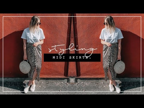 1d77f0a935 STYLING MIDI SKIRTS | HIGH STREET TO DESIGNER | I Covet Thee - YouTube