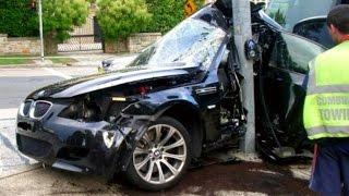 Error BMW STREET CRASH Compilation NEW - Best Bmw Traffic Accident