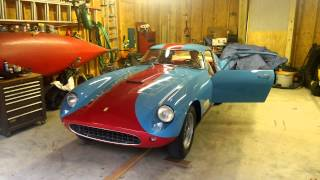 Etceterini.com starting up the 1957 Ferrari TDF