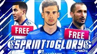 NUR MIT VORVERTRÄGEN ZUM CHAMPIONS LEAGUE TITEL!?? 🏆😱🔥 - FIFA 18 Schalke 04 Sprint to Glory