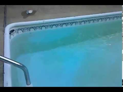 Clean Rust From Pool With A Sock Of Vitamin C Youtube