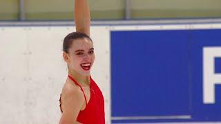 Мария Талалайкина Короткая программа Женщины Кубок России по фигурному катанию 2020 21