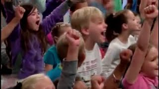 Yuck Game Show: The Science of Slime!  (Assembly Program, KLST News Clip)