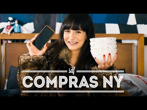 COMPRAS NY - IPHONE X, MÁSCARAS COREANAS, CASACO DE PELE, MAKE, CÂMERA SONY a7rIII   DANI NOCE