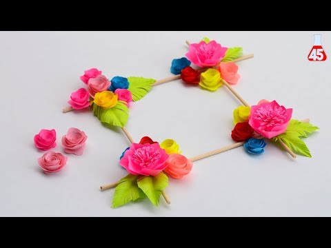 Idea fai da te per decorare Casa | Easy Wall Decoration Ideas | DIY Wall Decor