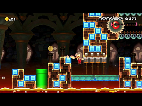 K6-4 Temporal Tempo ~ by Kathrine ~ SUPER MARIO MAKER Raw GAMEPLAY