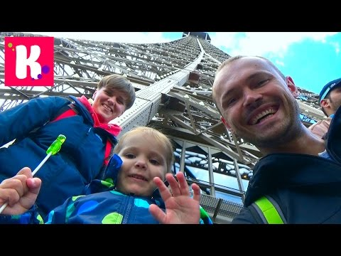 Париж День 7 катаемся на автобусе к Эйфелевой Башне Big Bus Tour in Paris