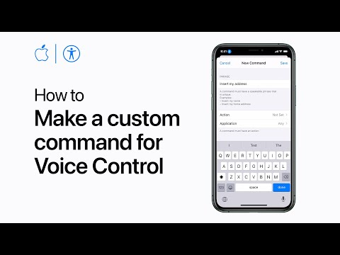 How To Make Custom Commands In Voice Control For IPhone, IPad, And IPod Touch – Apple Support