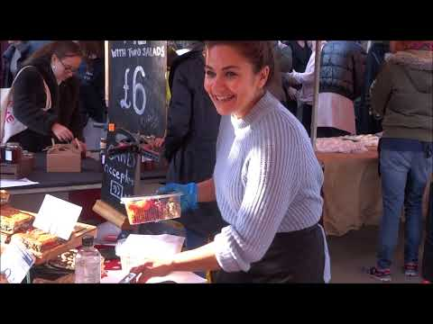 LONDON STREET FOOD, BURGERS, SPANISH OMELETTE, OYSTERS, WRAPS, CAKES