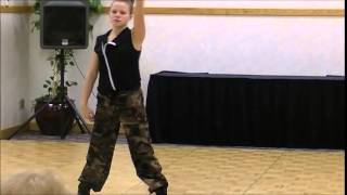 Kaylee Timmons - Beginning Hip Hop - Kick Off Classic Boise 2015