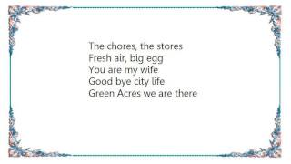 [Lyrics Hi-Standard - Green Acres] Green Acres is the place to be F...