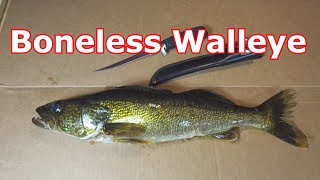 How To Clean A Walleye (Boneless, Skinless)