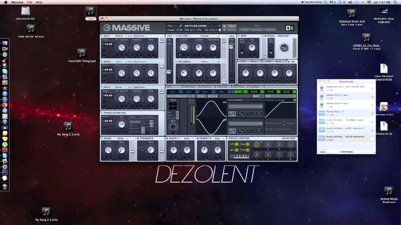 Download Heavy Wet Dubstep Bass In NI Massive (Tutorial)
