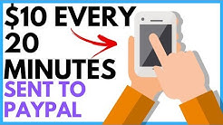 Make $10 Every 20 Minutes Online (Fast & Easy PayPal Money)