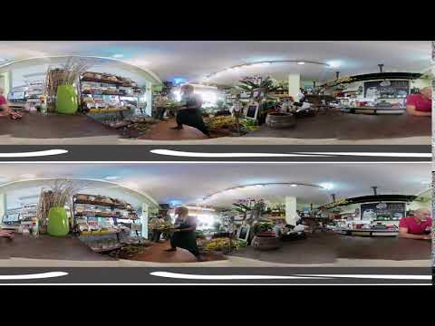Flower shop sodyarok 3d 360 vr