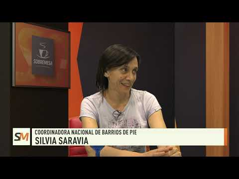 Sobremesa 15-11-19| Silvia Saravia - Coordinadora Nacional de Barrios de Pie