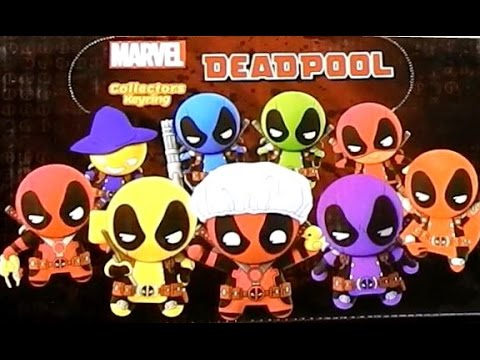 Deadpool series 2 3d foam collectible key ring youtube for Dead pool show in jaipur