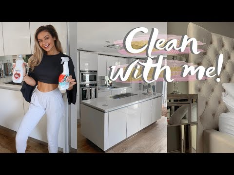SUMMER CLEAN WITH ME / CLEANING MOTIVATION ALL DAY CLEAN 2019