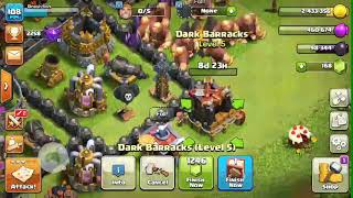 Unlock lava hound ans upgrade 2 leval in 1 minutes }/clash of clans new update .Clan Game