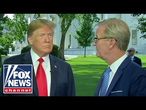 President Trump makes surprise appearance on 'Fox & Friends'