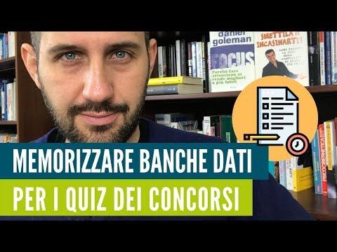 Come Superare I Quiz Dei Concorsi Memorizzando Le Banche Dati? Il Metodo Passo Passo.