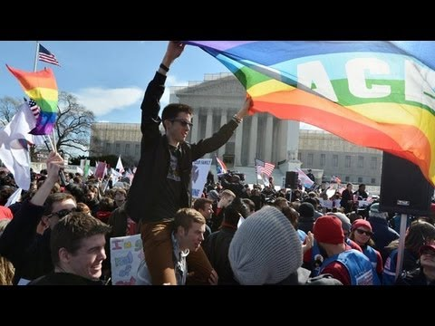 The Fight For Federal Laws To Protect Gay Marriage