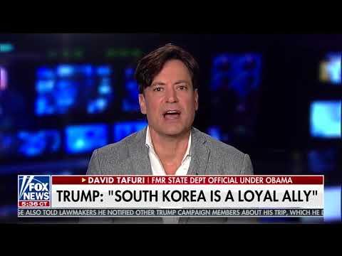 David Tafuri and Brian Kilmeade analyze Trump speech in South Korea as it finishes