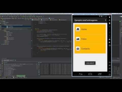 Lista con imágenes Android nativo (ListView)