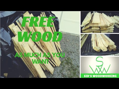 How to get free wood, as much as you want