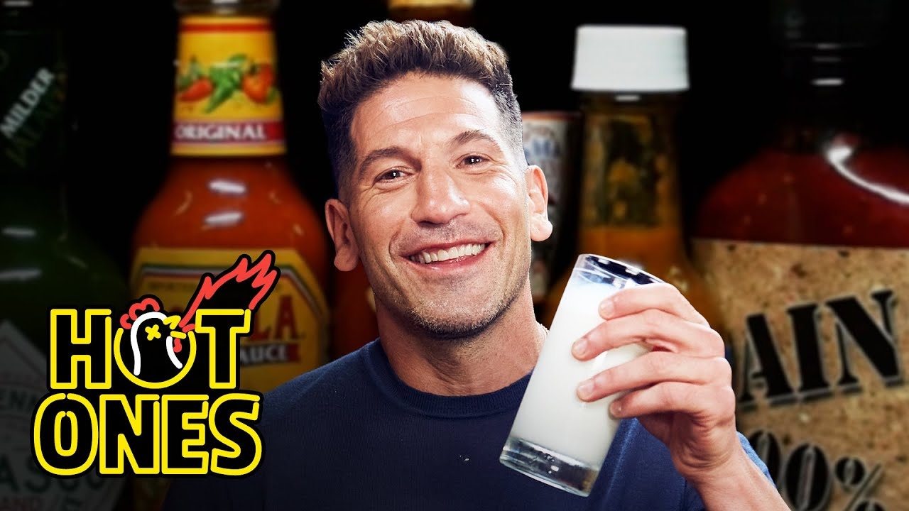Download Jon Bernthal Gets Punished By Spicy Wings   Hot Ones