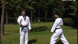 Taekwondo Step by Step Ep150 Taegeuk 6 Jang 방어와 공격이 혼합된 여러 동작들을 배워본다