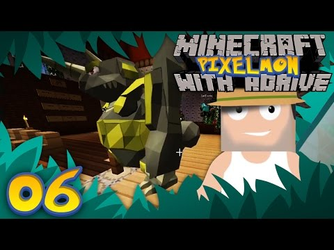 FIRST SHINIES!! Minecraft PIXELMON with aDrive! Ep06 - PocketPixels Red Let's Play!