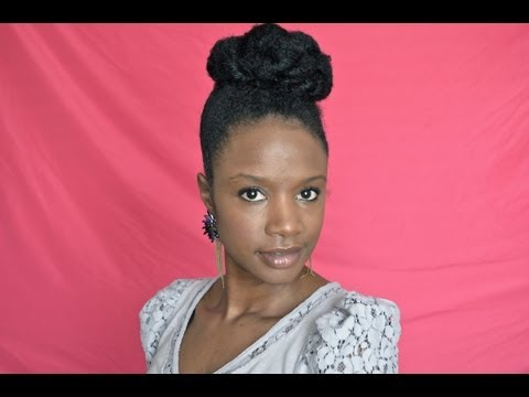 {277}-textured-protective-style-bun-on-natural-hair!---natural-hair-journey