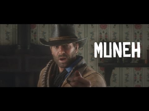 RDR2 MUNEH Edition , (How many times Arthur says money?) FT. BOAH and MEMES  [YTP]