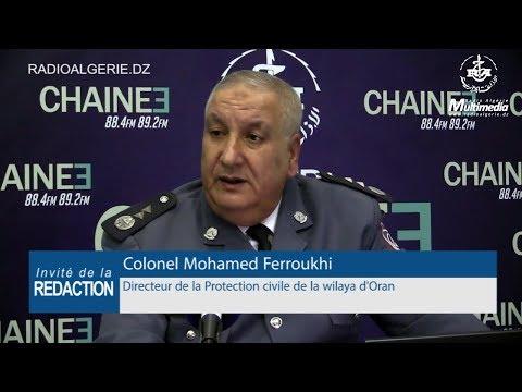 Colonel Mohamed Ferroukhi directeur de la Protection civile de la wilaya d'Oran