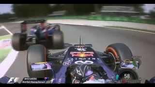 F1 2014 Monza - Daniel Ricciardo Onbo