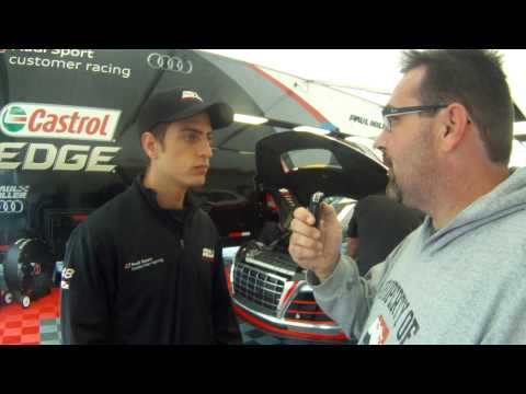 Dion Von Moltke Interview at Watkins Glen