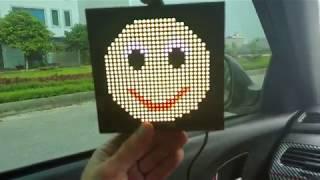 Emoji Display Car- Màn hình cảm xúc trên ô tô- Hướng dẫn cài đặt và sử dụng