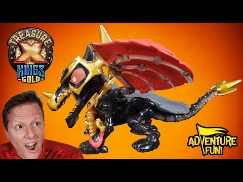 "Treasure X Kings Gold ""Beasts"" Season 3 Unboxing Adventure Fun Toy Review By Dad!"