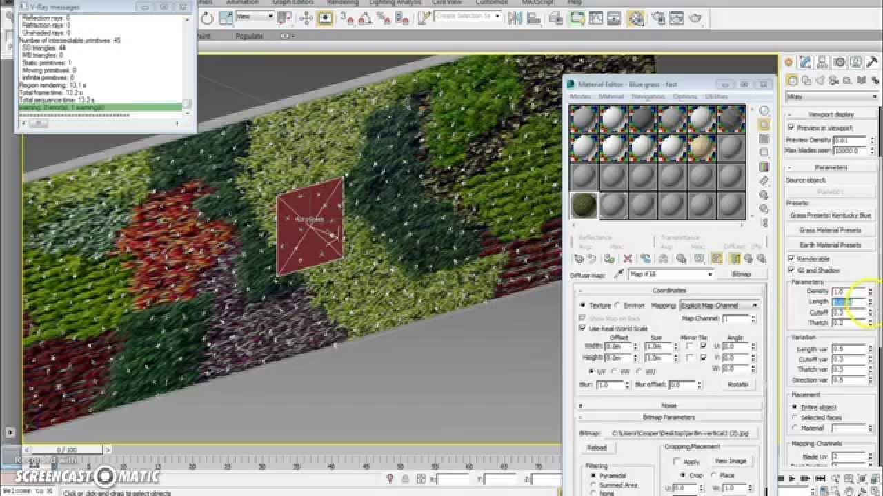 Como hacer un muro vegetal en 3d max youtube - Como hacer un muro verde ...