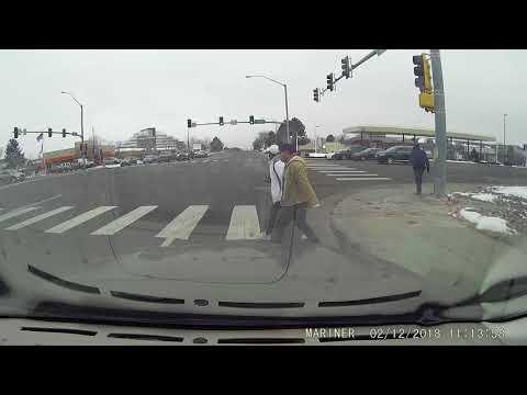 Pedestrians ignore crossing signals
