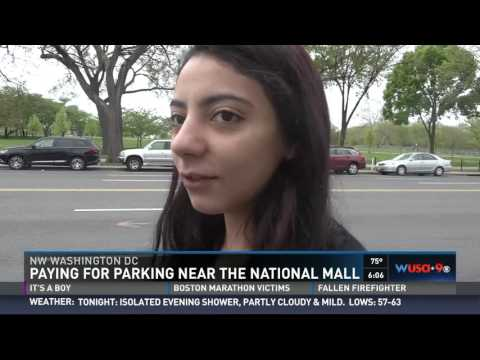 Get ready to pay when parking at National Mall