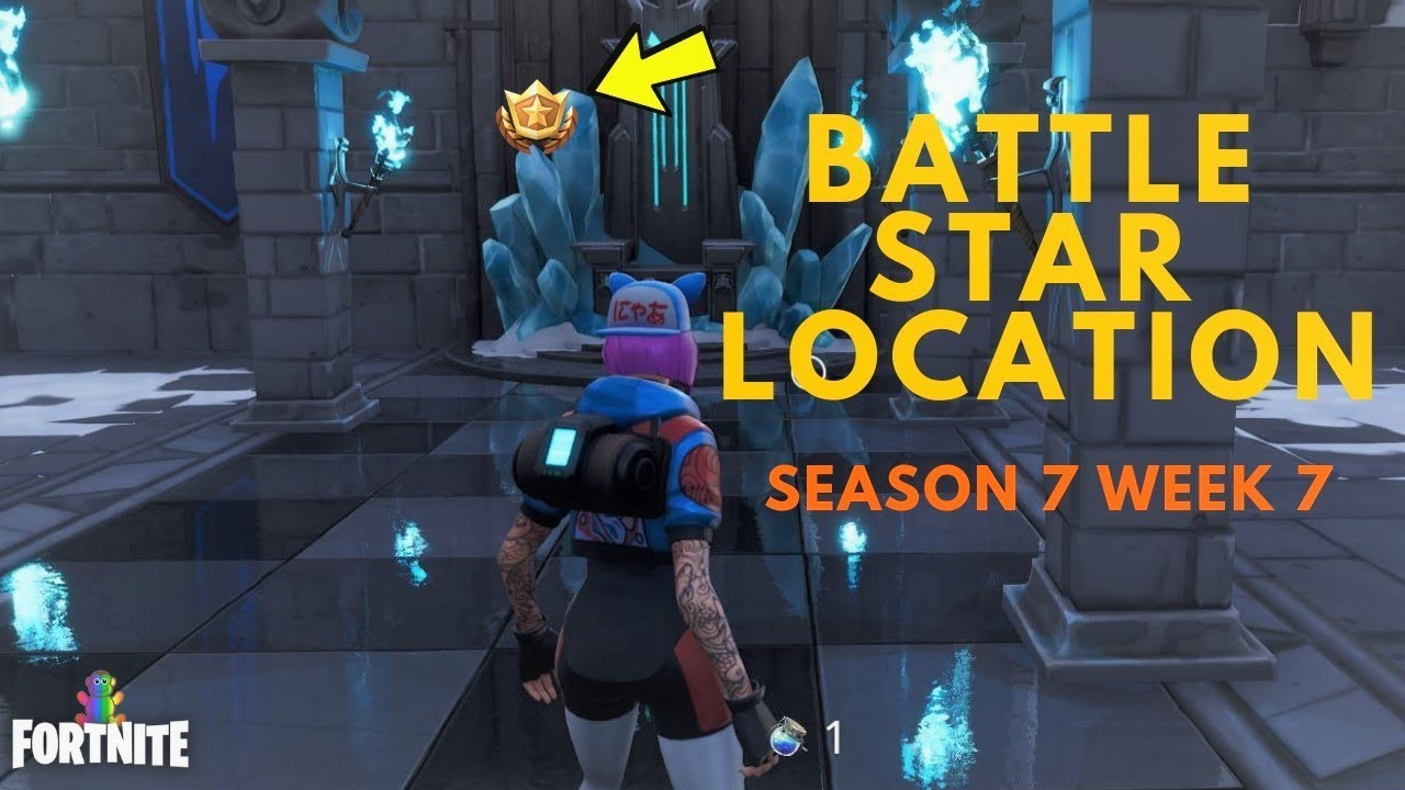fortnite secret battle star in loading screen 7 leaked season 7 week 7 snowfall challenge - fortnite secret battle star loading screen 7 location