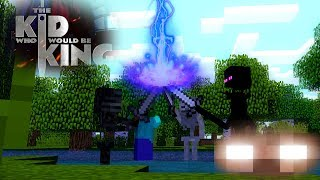 - FUNNY Monster School The Kid Who Would Be King Challenge Minecraft animations