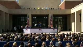 The George W. Bush Presidential Center Dedication Ceremony